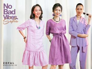Màu tím hợp với màu gì? Cách phối trang phục màu tím thời thượng cho tủ đồ
