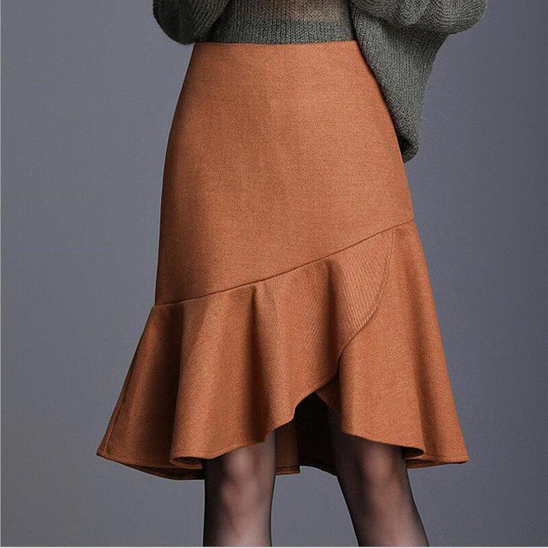 lựa chọn kiểu váy len phù hợp với sở thích và vóc dáng