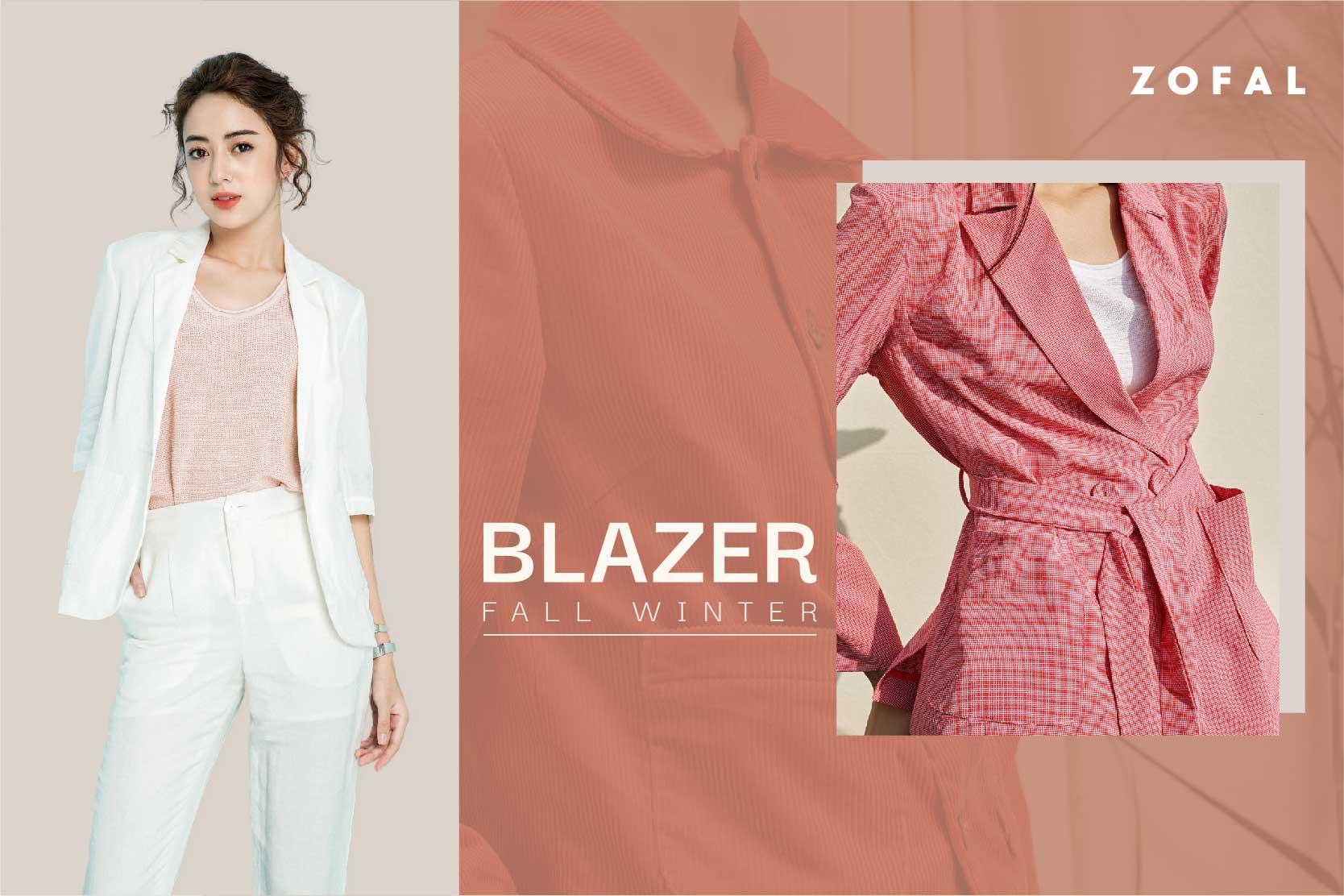 Xu hướng diện Blazer cho mùa Thu Đông 2020